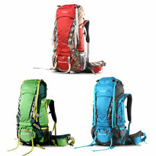 Hewolf Outdoor Waterproof 65L Large Camping Climbing Backpack Travel Hiking Bag