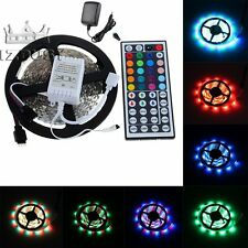 5M 3528 SMD Stripe RGB LED Light Strip Tape Roll IP65 IP20 For Xmas Decoration