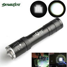 Powerful 2500 Lumens Zoomable CREE Q5 LED 18650 Flashlight Torch Lamp Light
