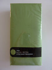 NEXT Green Non Iron Fitted Sheet KING NEW in PACK