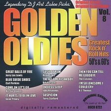 Golden Oldies, Vol. 8 by Various Artists (CD-2002, Original Sound) BRAND NEW