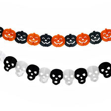 5 Styles Halloween Hot Paper Garland  Decoration For Halloween Party Decor Props