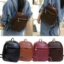 New Cute Kids Girls Boys Korean Pu Leather Schoolbag Backpack Shoulder Bags