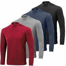 SALE!! Mizuno 2015 Yomo Mens Thermal Mock Winter BaseLayer-Longsleeve Golf Shirt