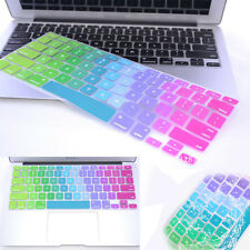 Protector Keyboard Cover Silicone Rainbow For MacBook Air Pro Retina 11 13 15