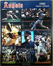 1983 Angels Official Yearbook Unsigned Don Sutton Bobby Grich Rod Carew