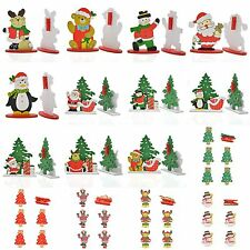 Christmas Santa Claus Ornaments Festival Party Xmas Tree Hanging Decoration Gift