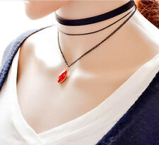 Fashion Women Gothic Style Choker Layer 3 Chain Necklace Hot Vintage Style New
