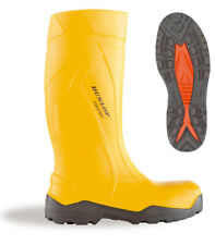 Dunlop Purofort + Plus Full Safety Welly Wellies Wellington Boots Yellow 5-12