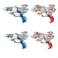 Super Space Spinning Multi-Colors With Sound Toys Laser Plastic Children Kids
