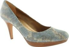 Circa Joan & David Women's Pearly Blue Patent Pumps