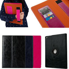 Luxury Folio Flip Business Smart Cover Leather Case For iPad Mini 2 3 4 Air Pro