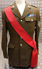 Genuine British Army Guards / Army Sergeants Sgts Red Sash