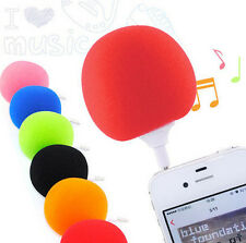 Speaker iPod Sponge Ball 2016 iphone 5.5mm Cell Phone Portable PC Music MP3 Mini