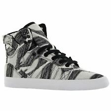 Supra SkyTop White Black Womens Trainers