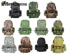 11Colors Large Backpack + Molle Pouches Tactical Molle Assault Hunting Bag