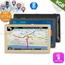 "XGODY 8GB SAT NAV 7""HD Car GPS Navigation Touch Screen Bluetooth AV-IN New Hot"