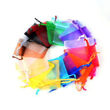 5x7cm Premium ORGANZA Wedding Favour GIFT BAGS Jewellery Pouches 19 color