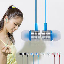 3.5mm In-Ear Earbuds Earphone Headset Headphone For iPhone MP3 Cd/Dvd Player