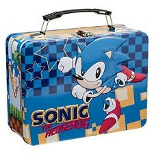 Vandor 63070 Sonic the Hedgehog Large Tin Tote, Multicolored