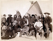 Vintage Wild West Indian Chiefs New Repro Print/Poster #9 Giclee Archival Inks
