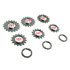Bike Bicycle Sprocket Fixed Gear Single Speed Cog w/Threaded Lock Ring 13T-18T