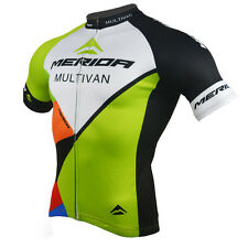 Merida New Mens Cycling Jersey Reflective Bike Wear / Shirts Mtb Maillot Top