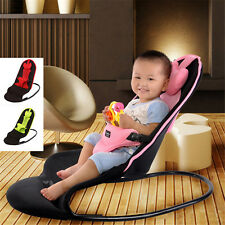 3 Clour Durable Baby Bouncer Soft Baby Balace Bouncing Chair Vibrating Seat