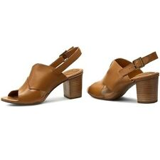 Clarks Women's Ralene Vive Tan Leather Sandal