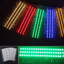 20Pcs 3 LED 5050 SMD Waterproof Module Light Lamp Strip Signs Decoration  DC 12V