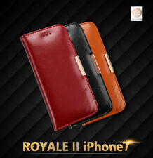 KALAIDENG Luxury Cow Leather Case Wallet Cover For Apple iPhone 7