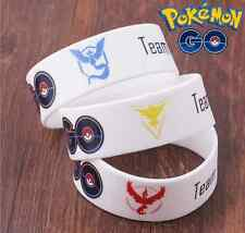 Team Valor Mystic Instinct Silicone Wristbands Bracelet Wide Bangle 3Colors CHIC