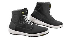 FALCO TREK Motorcycle boots Motorcycle shoes Ankle boots black / LEATHER