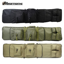 120CM Tactical Military Hunt Dual Rifle Gun Shotgun Carrying Case Bag Backpack
