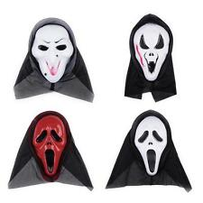 Halloween Party Prop Costume Screaming Fake Devil Face Mask Scary Grimace Mask