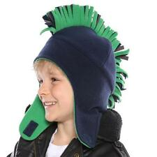 Childs Fleece Mohican Trapper Hat  one size 2 colours FREE fast 1st class post.