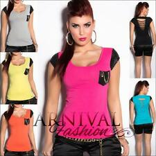 NEW LADIES CASUAL FASHION TOP XS S M L shop online SEXY WOMEN'S SHIRTS 6 8 10 12