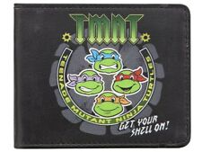 Teenage Mutant Ninja Turtles Get Your Shell On Black TMNT Wallet