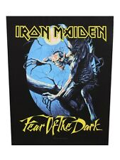 Iron Maiden Fear Of The Dark Back Black Patch