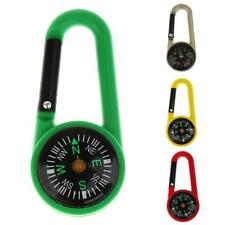 Carabiner Clip Keychain & Compass for Camping, Climbing, Hiking, Hunting,Outdoor