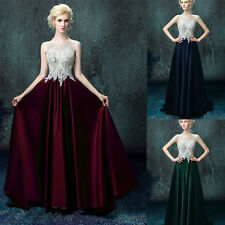 2016 Prom Dress Beaded Pageant Formal Party Evening Ball Gowns Size 0 2 4 6 8