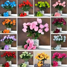 252 Silk BUDS ROSES Wedding FLOWERS Bouquets Wholesale Supply for Centerpieces