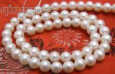 """AAA 7-7.8MM Freshwater PEARL Loose beads strand 15""""-410"""