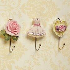 Resin Dress Rose/Dress/Heart Coat Robe Hanging Hook Clothes Towel Hanger