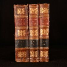 c1850 3vols History of England with Continuation to Queen Victoria Campbell Hume