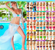 Coqueta Mesh Bikini beach Cover Up Sarong Pareo Swimsuit Wrap Swimwear skirt hot
