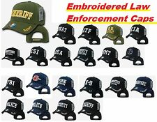 Rapid Dominance Embroidered Law Enforcement Caps Hats USA Baseball Cap Hat