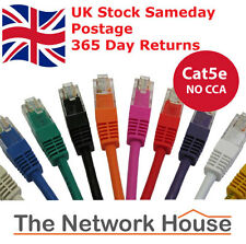 RJ45 CAT5e Ethernet Network LAN cable patch lead Internet Xbox PS4 Broadband