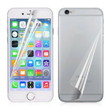 3x Clear Front/Back Screen Protector LCD Film Foil Guard For iphone 7 6 6s Plus