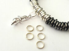 12 SPLIT RINGS FOR SILVER LINKS OF LONDON SWEETIE CHARM BRACELETS -  ONLY 99p!